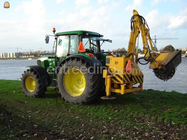 Tractor + stobbenfrees John Deere 6420 SE + Stobbenfrees