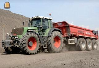 transport van grond met t... Omgeving Gent