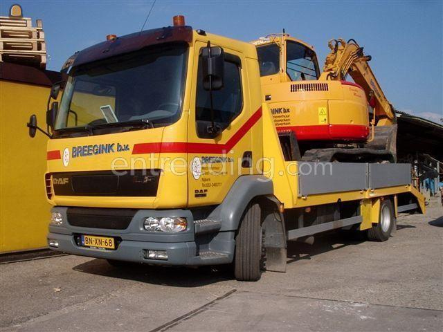 Dieplader / oprijwagen Daf 55 LF
