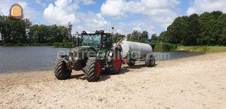 Tractor + waterwagen Omgeving Kamerik