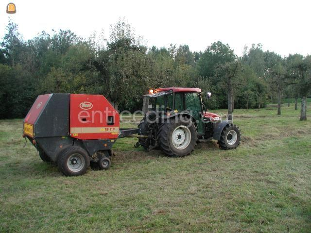 Tractor + oprolpers Vicon RF119