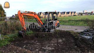 Hitachi zaxis 35 Omgeving Zoetermeer