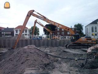Case CX330 21 meter Long ... Omgeving Hoekse Waard