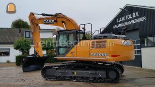 Case CX300D Omgeving Hoekse Waard