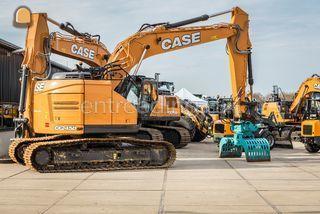 Case CX245D Omgeving Hoekse Waard