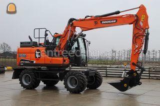 Doosan DX140 Omgeving Hoekse Waard