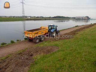 New Holland T6080 Omgeving Hoekse Waard