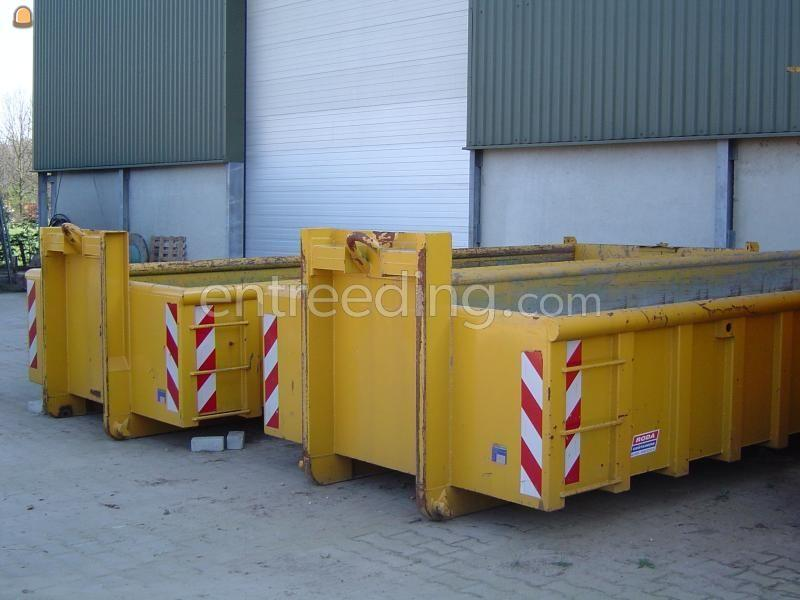 Open containers roda 13 m3