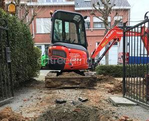 kleine grondwerken, graaf... Omgeving Brussel