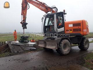 Hitachi ZX 140W Omgeving De IJsselsteden