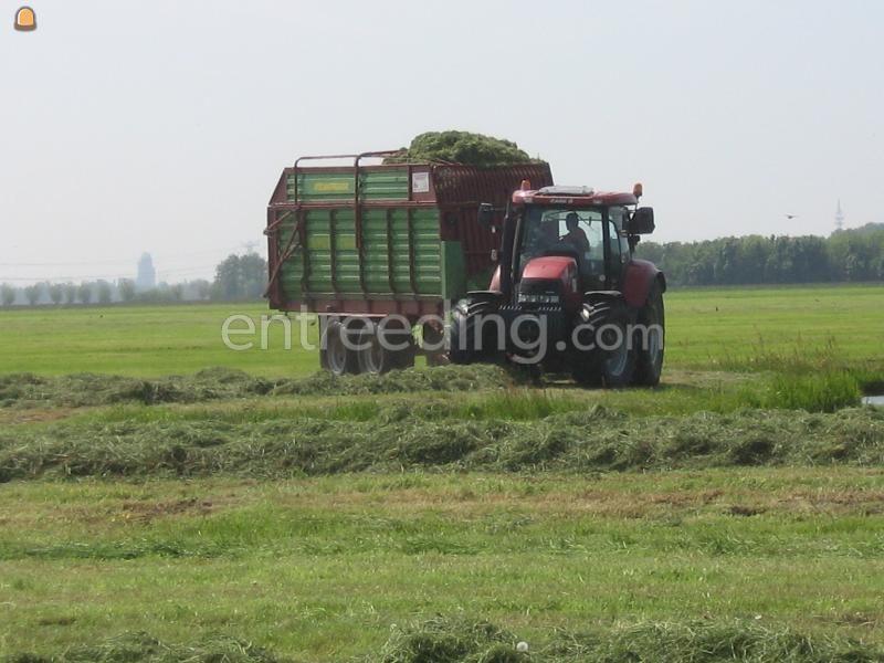 Tractor + opraapwagen MXU + Super Vitesse