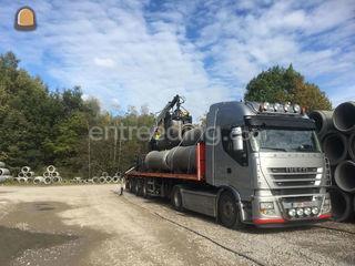 transport van machines, b... Omgeving Hasselt