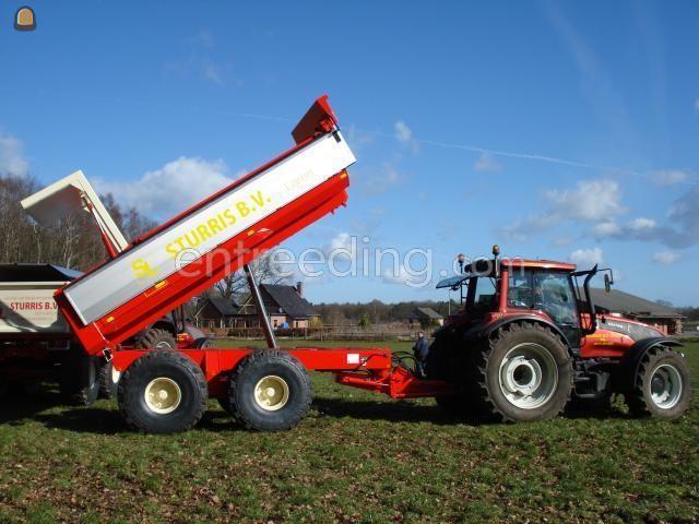 Tractor + kipper Valmet T-190 + Beco Gigant 240