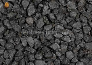 Zwart Basaltsplit Omgeving Lochem