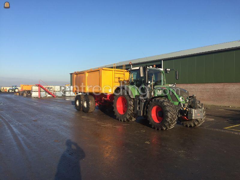 Tractor + VGM Bagger Kipper