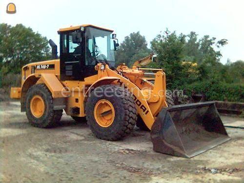 Wiellader / shovel Hyundai HL 740-7