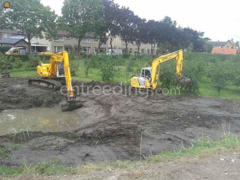 Te koop graven en onderhouden van sloten en for Vijvers te koop aangeboden