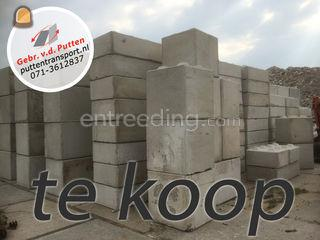 Betonblokken Omgeving Leiden