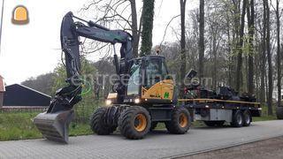 Mobiele graafmachine Omgeving Winterswijk