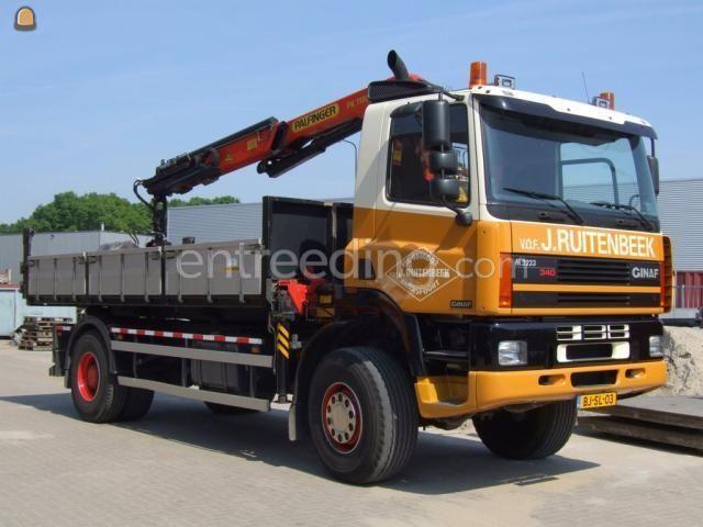 Kippervrachtauto Ginaf 2222 Combiwagens 4x4