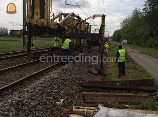 spoorwerken Omgeving Aalst