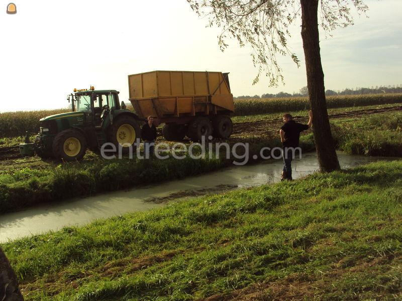 Tractor + silagewagen VGM