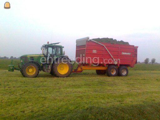 Tractor + silagewagen Schuitenmaker