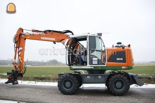 Liebherr 914 Omgeving Lisse