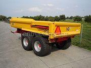 Tractor + kipper Fendt+vgm 10 t