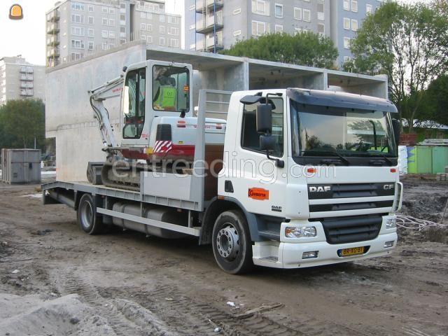 Dieplader / oprijwagen DAF CF 75