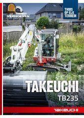 Takeuchi TB 235 Omgeving De Ronde Venen