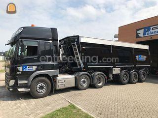 Daf CF + Kiptrailer Omgeving Alkmaar