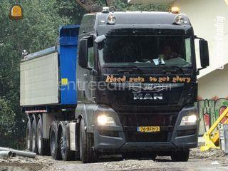 MAN + Kiptrailer Omgeving Alkmaar