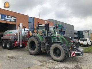 Fendt + waterwagen 14m3 Omgeving Alkmaar
