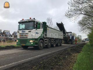 Scania 10x4 Omgeving Alkmaar