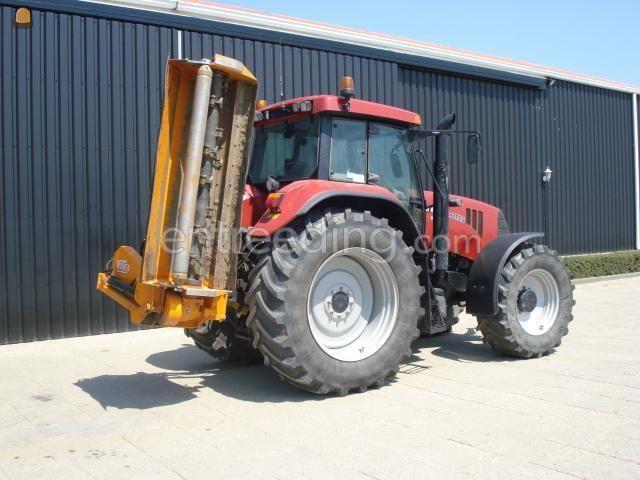 Tractor + klepelmaaier trekker + klepelmaaier