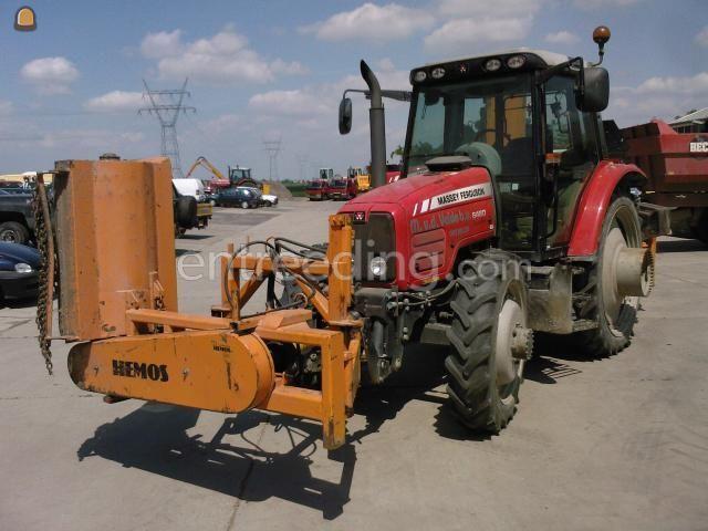 Tractor + klepelmaaier