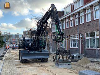 Takeuchi TB295w Omgeving Rotterdam