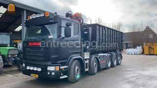 Scania 10x4 container,-/ ... Omgeving Rotterdam
