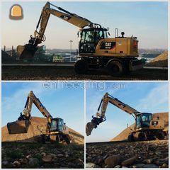 Cat M318D Omgeving Maastricht