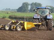 Tractor met kilverbak