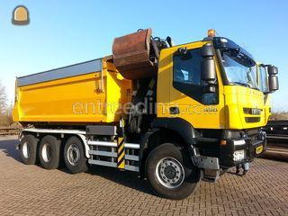 Haakarm-Knijperwagen Omgeving Leiden