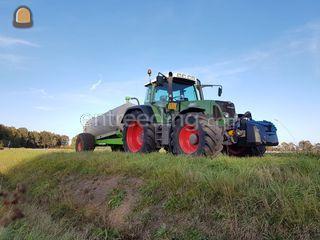Tractor + waterwagen Omgeving Beilen