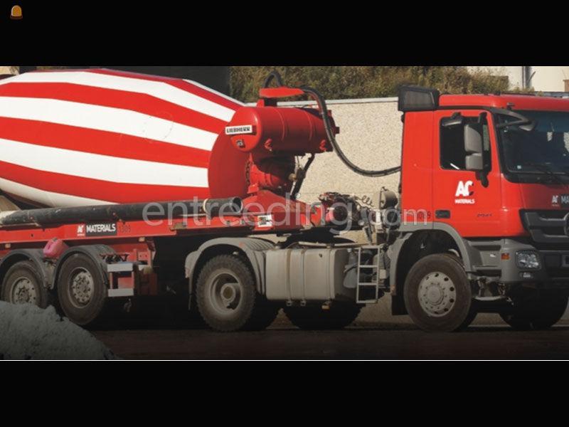 betonmixers voor transport vanuit onze betoncentrales