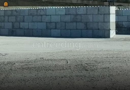 verkoop van stapelblokken in beton