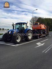 new holland + dieplader Omgeving De IJsselsteden