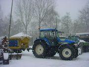 Sneeuwschuiver / Zoutstrooiers TM120 + Nido zoutstrooier