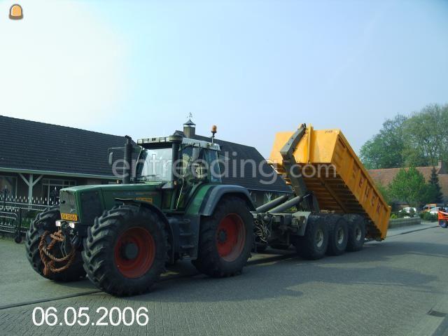 Tractor + kipper Tractor + carrier