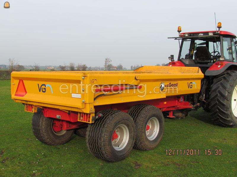 Tractor + kipper VGM grondkar 8ton