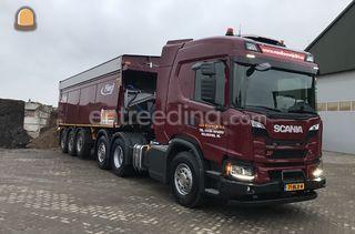 Schuif trailer Omgeving Maasdriel